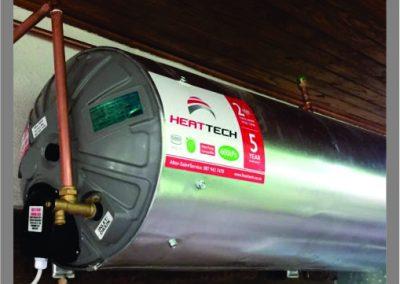 Heat tech geyser installation